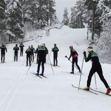 Skisamling Geilo 2019 - den eldste gruppa