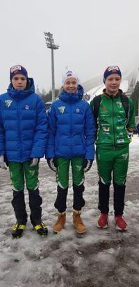Bendit Ungommens Holmenkollrenn Isac - Johanna og Adrian