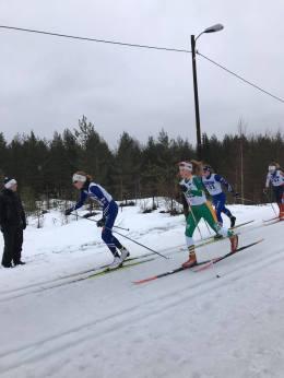 Johanna i tet langløp Eiker ski J15