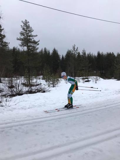 Sivert Ekroll i tet Eiker ski langløp seier G15 år